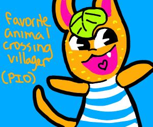 Favourite Animal Crossing villager (PIO)