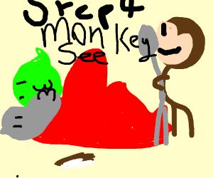 Step 3:Moto Moto and Shrek do the thing