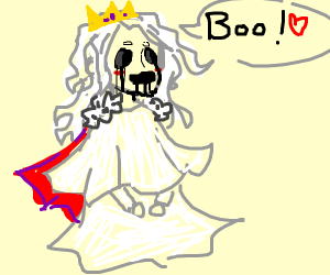 Queen ghost loves you