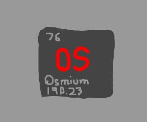Osmium 76