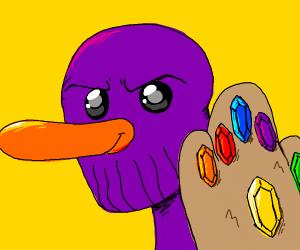 thanos as a duck