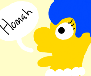 marge says homah