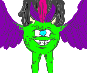 Mike Wazowski as Ultimate Form Kars (JJBA)