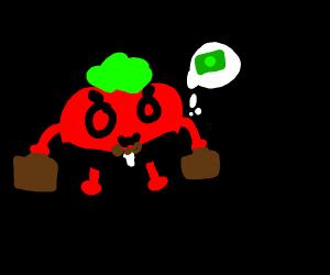mr tomato businessman