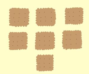 Seven Saltine Crackers