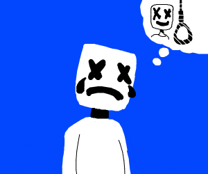 marshmello wants to commit die