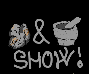 Rock and mortar show