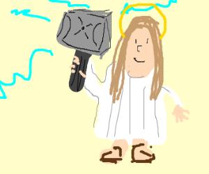 Jesus as Thor