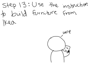Step 12. Do the instructions backwards