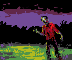 There's a zombie on your lawn
