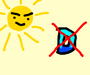 The sun is going to end drawception