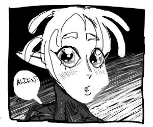 Alien manga