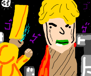 Dio Brando and Za Warudo