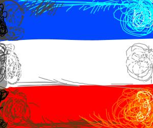 Netherlands flag flipped