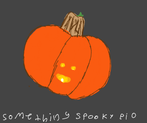 Draw something spooky!