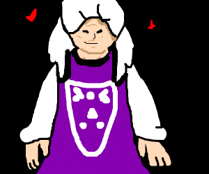 toriel (undertale) humanized