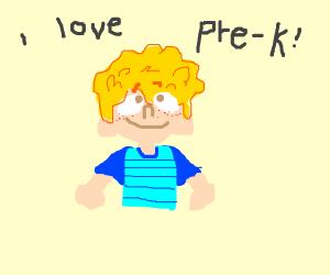 Preschool (the good ol' days)