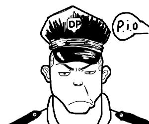 Drawception Police heard a PIO! ohno
