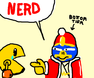 King Dedede calling Pac-Man a nerd
