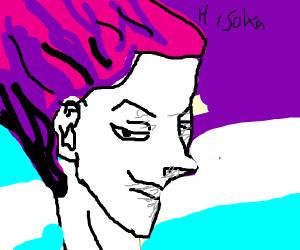 HISOKA(Hunter x hunter) meets sans(undertale)
