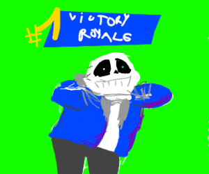 Sans default dances on em haters