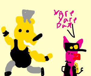 Winnie the Pooh is a JoJo Character