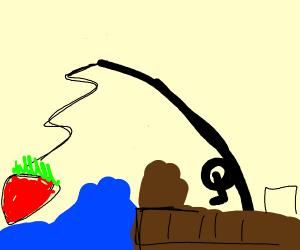 Reeling in a Strawberry