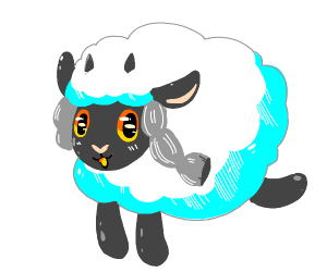 Wooloo from pokemon