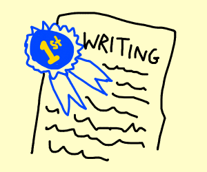 First Place Writer