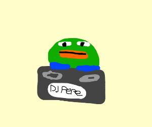 PP, the DJ Frog!