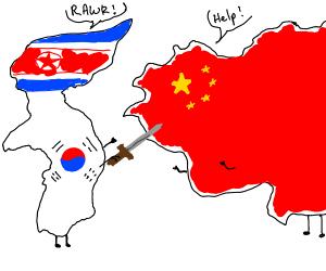 Korea about to kill China