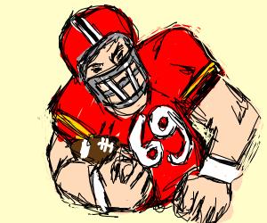 Football player #69