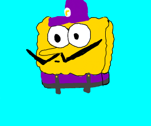 Spongebob is waluigi