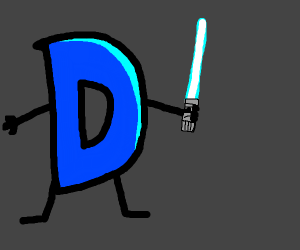 Drawception with lightsaber