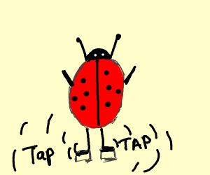 Miraculous Ladybug is tap dancing
