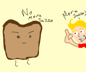 toast that says no more jassa