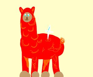Dr. Red Alpaca is looking fab