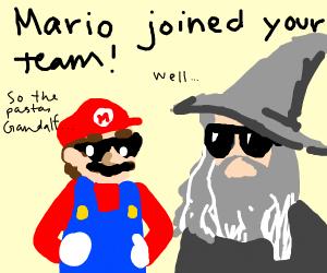 Mario teams woth Ganondorf