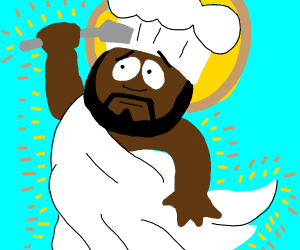 God is a chef