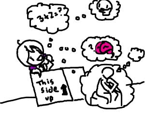 A thinking box