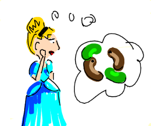 Cinderella complementing beans