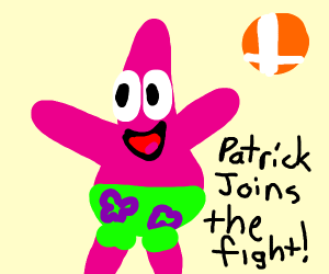 Patrick for smash bros
