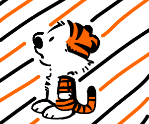 Calvin and Hobbes fused