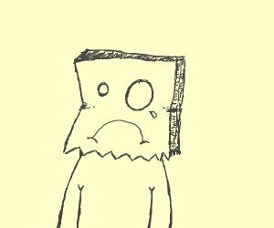 saddest default avatar