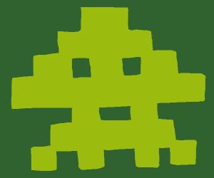 space invader sqiud