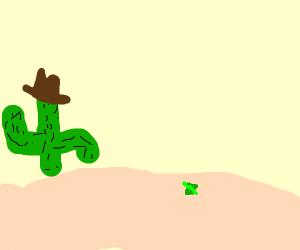 Grasshopper in the Desert