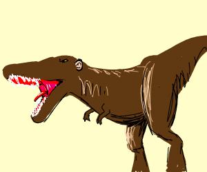 Dinosaur with human ear(s)