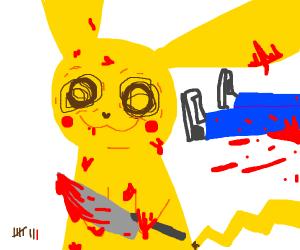 Pikachu is a serial killer