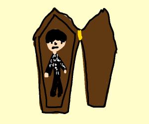 Emo Draculas Coffin