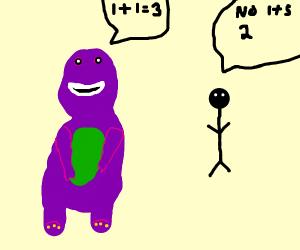 Correct Barney